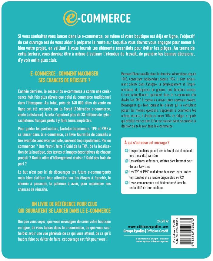 E-commerce, Bernard Eben - couverture arrière