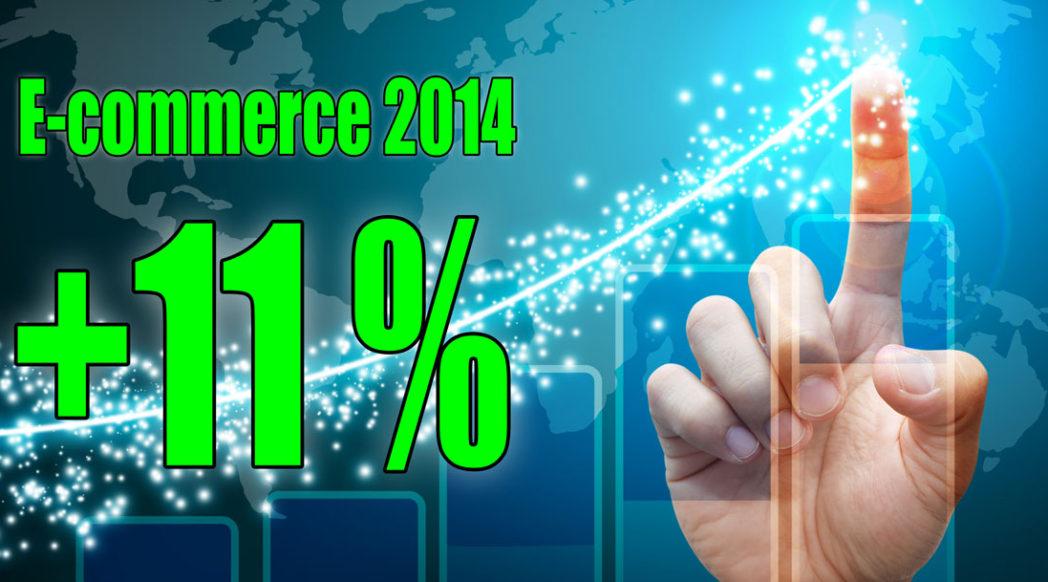 E-commerce en hausse de 11 pourcents