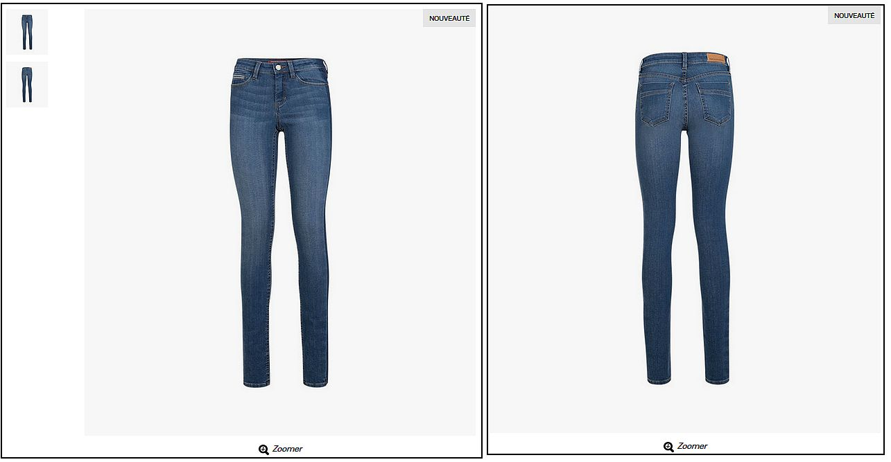 jeans dame galeries lafayette