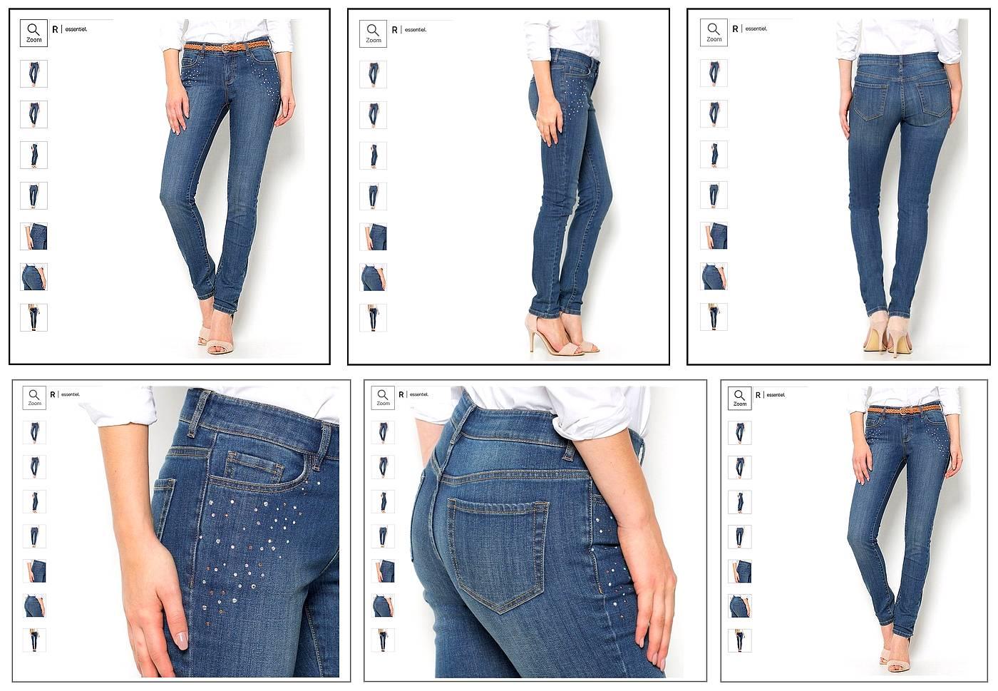 jeans dame la redoute