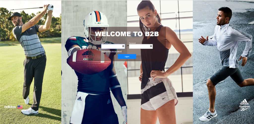 Adidas B2B Commerce