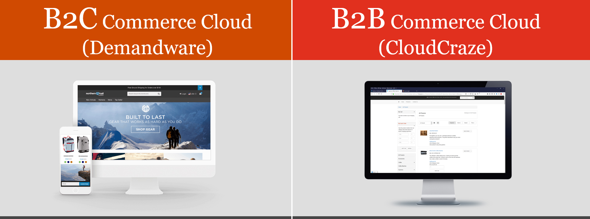 Salesforce B2C-B2B